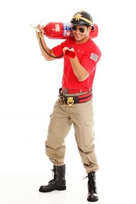 fantasia masculina bombeiro