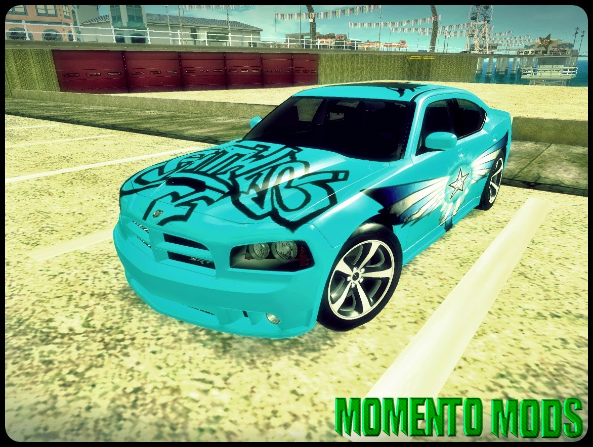 GTA SA - Dodge Charger SRT8 2006 + ImVehLM