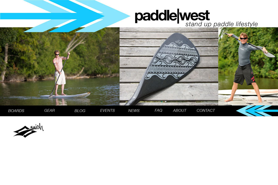 Paddle West