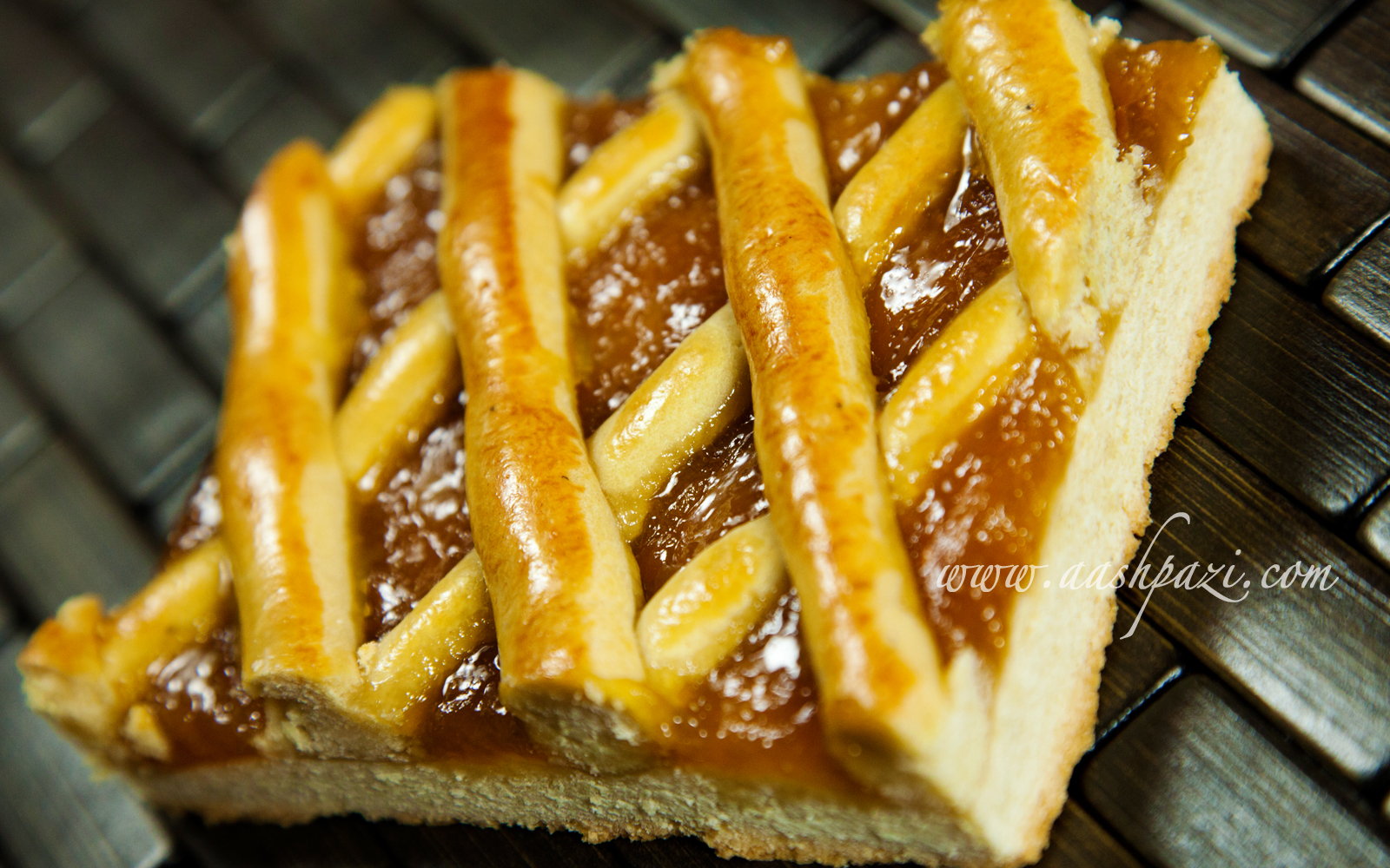 Apricot Marmalade Cake Recipe | aashpazi