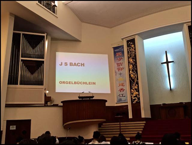 Bach Órgano Biblia Hong Kong