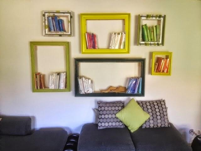 Extremely la reines blog: Bücherregal selber bauen: Kreative Wandgestaltung KL92
