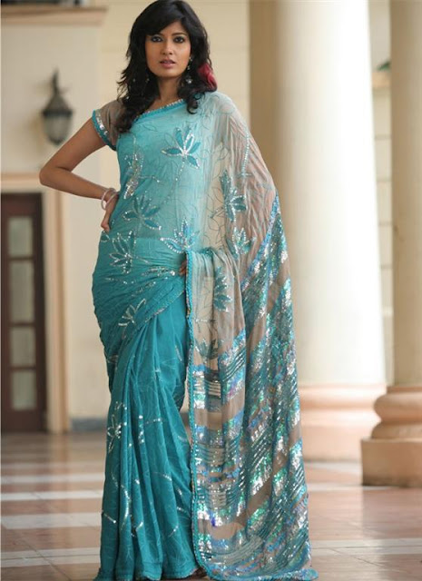 Women Party Saree Trend