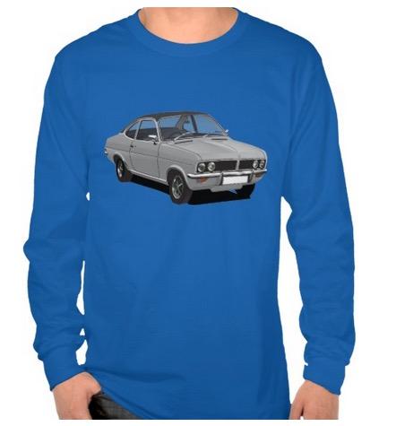 Vauxhall, firenza, t-shirt,  t-paita, t-tröja
