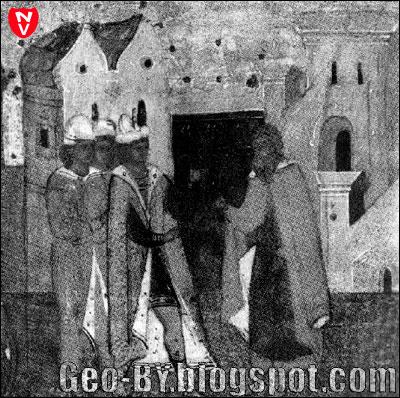 Клеймо русской иконы XVI века Ксения с житием