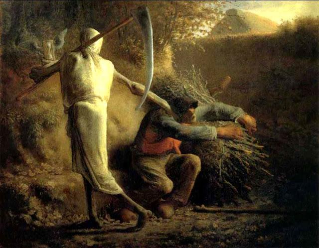 La Mort et le bûcheron, Jean Francois Millet, 1859