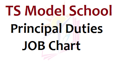 TS Model School Principal Duties, JOB Chart