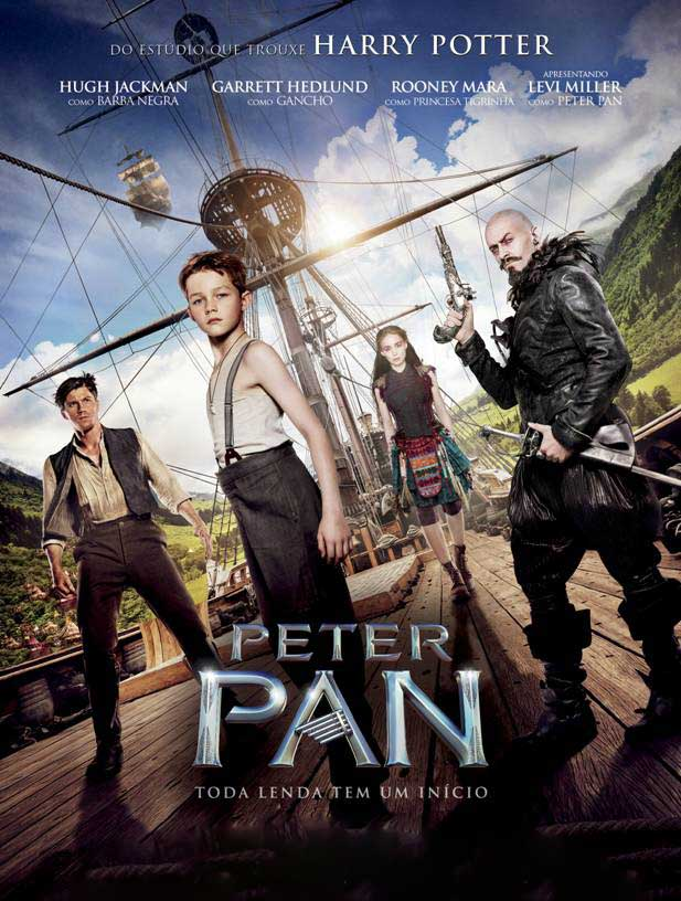 Peter Pan Torrent - Blu-ray Rip 720p e 1080p Dual Áudio (2015)