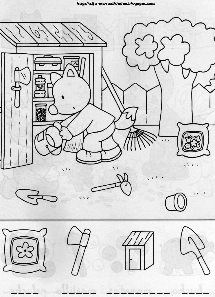 AljuManualidades: Plantillas didácticas para imprimir (niños 5-6