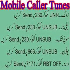 How to Unsubscribe/ Deactivate Mobile Dial Tunes? - Pakistan Hotline