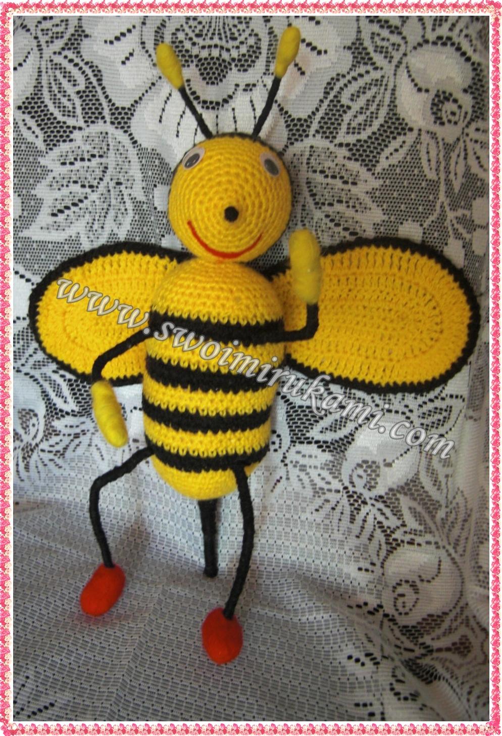 пчелка своими руками крючком