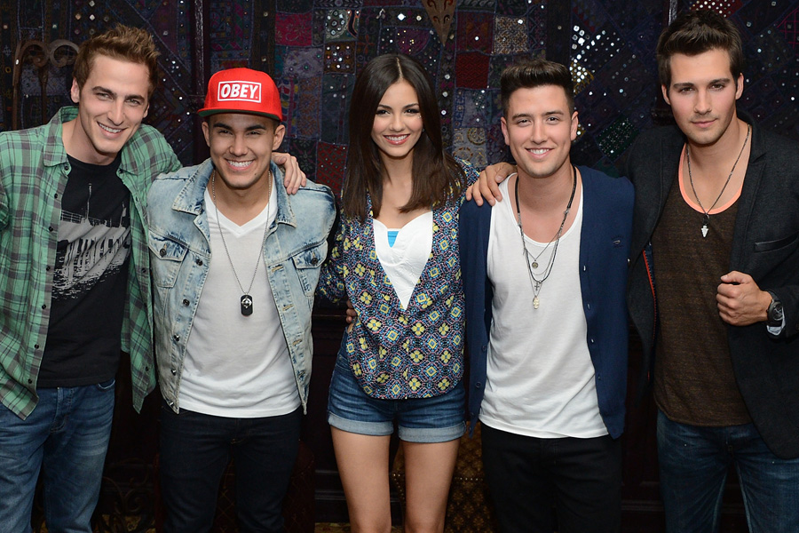 """Big Time Rush & The Wanted: Victoria Justice Talks """"Gold ..."""