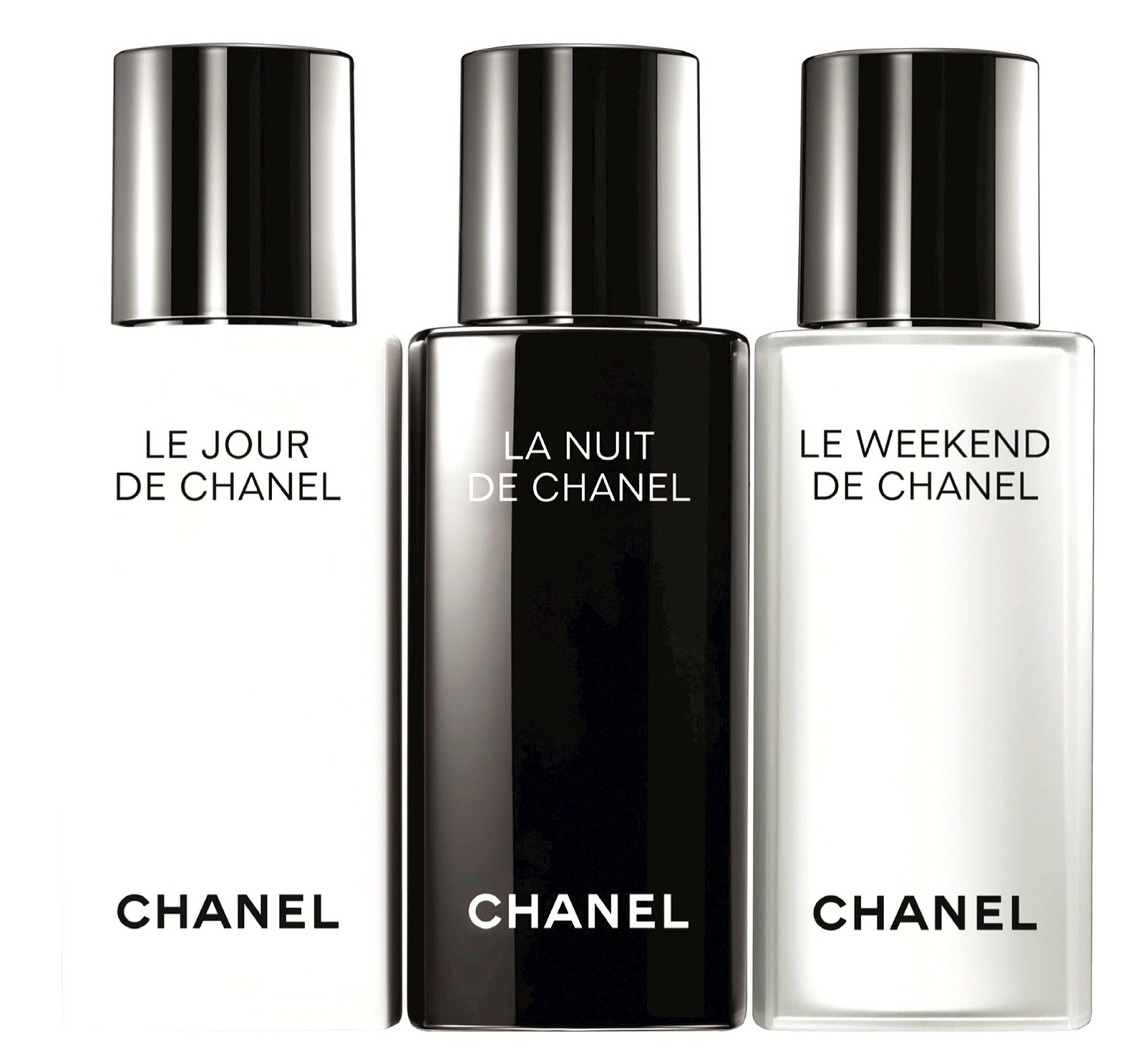 make up for dolls chanel 39 s new and extremely exciting approach to skincare le jour la nuit. Black Bedroom Furniture Sets. Home Design Ideas