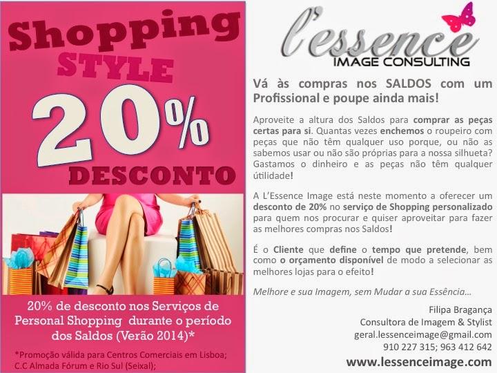 SALDOS - Shopping Style 20% desconto