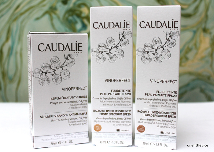 one little vice beauty blog: new caudalie skincare products