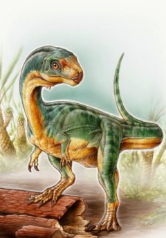 Artistic interpretation of Chilesaurus diegosuareziis