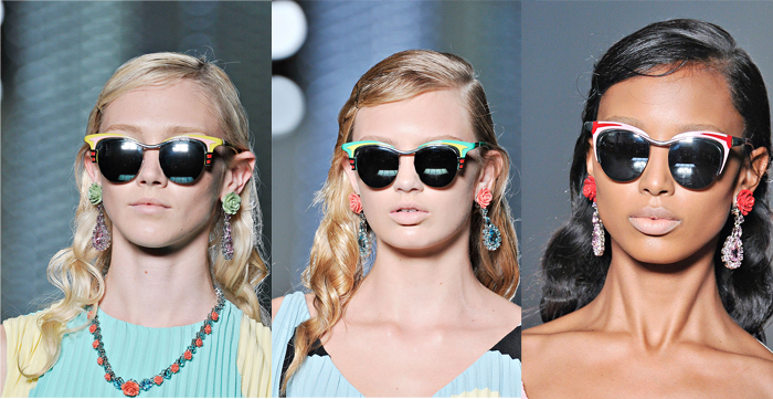 short hairstyles for fine hair fall 2013 on Fashion and Trends: Prada Sunglasses 2012