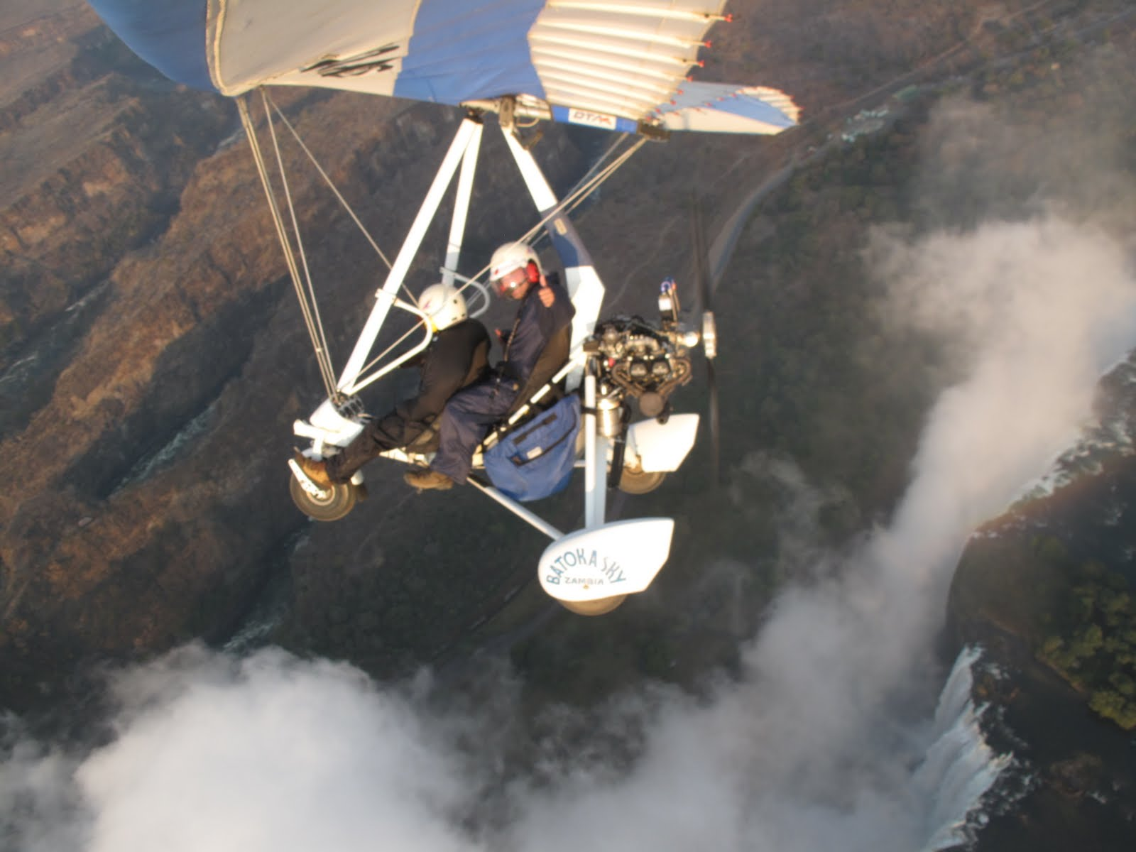 The Eastcott Family Blog  Microlight Flight  Booze Cruise Botswana
