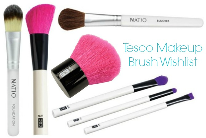 Tesco makeup brush wishlist