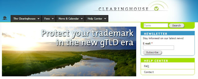 Trademark Clearinghouse Webseite