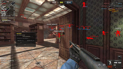 Point Blank Hile 21.11.2012 WallHack Chams Xhair Güncel Oyun Botu indir