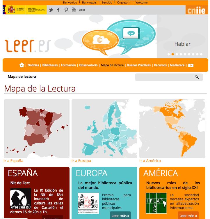 Mapa de lectura