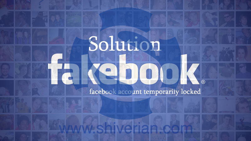 facebook account temporarily locked