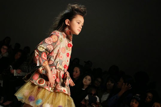 Chichi Mary | petitePARADE Fashion Show Fall 2015: Aria model