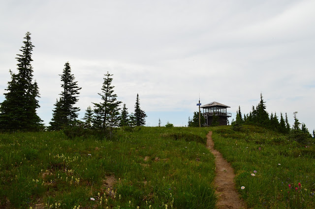 Shriner Peak Lookout, Mt. Rainier