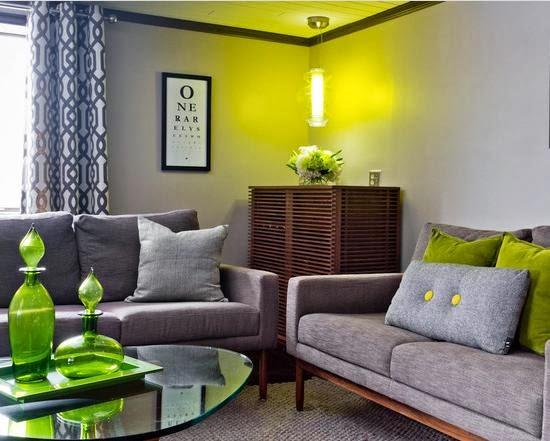 kombinasi warna cat untuk ruang tamu rumah minimalis