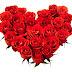 Corazón de rosas rojas | Wallpaper