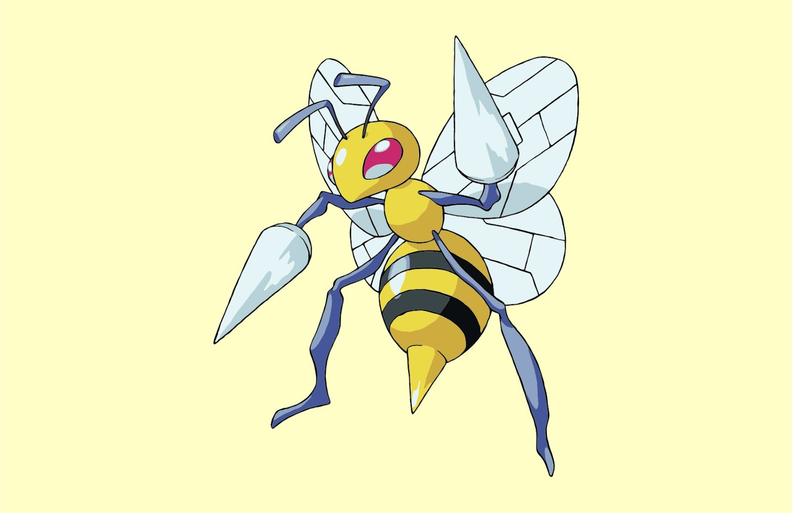 Pokemon Beedrill Vector Game
