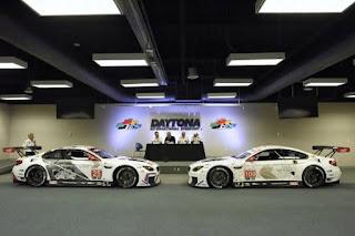 BMW a prezentat la Daytona designul noilor modele de curse BMW M6 GTLM