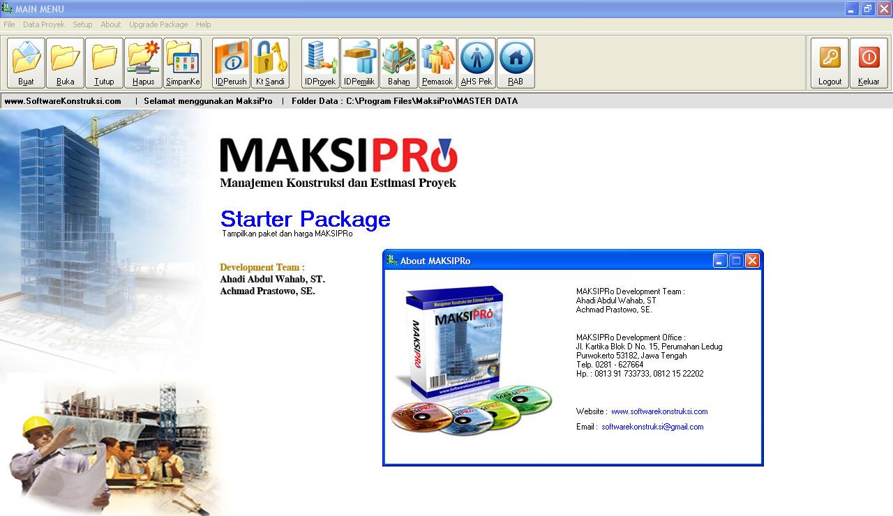 Software Murah: Jual MAKSIPro ( Software Manajemen