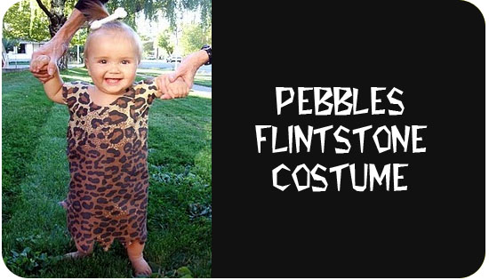 pebbles flintstone costume tutorial