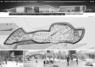 plano del museo de troya