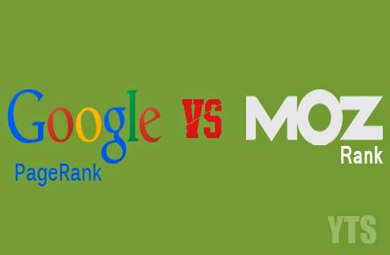 Google Pagerank Moz Rank