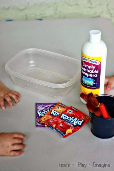 How To Make Erupting Kool Aid Paint