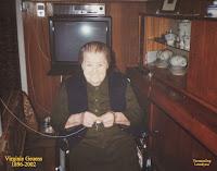 Virginie Geuens als honderdjarige