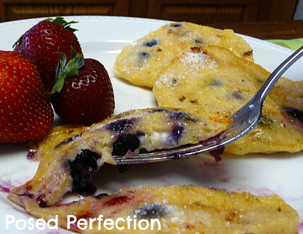 Posed Perfection: Cottage Cheese Pancakes
