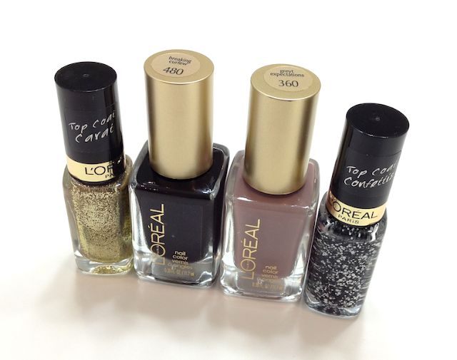 L'Oréal Summer 2013 Nail Collection Colour Riche Nail Colour and Top Coats