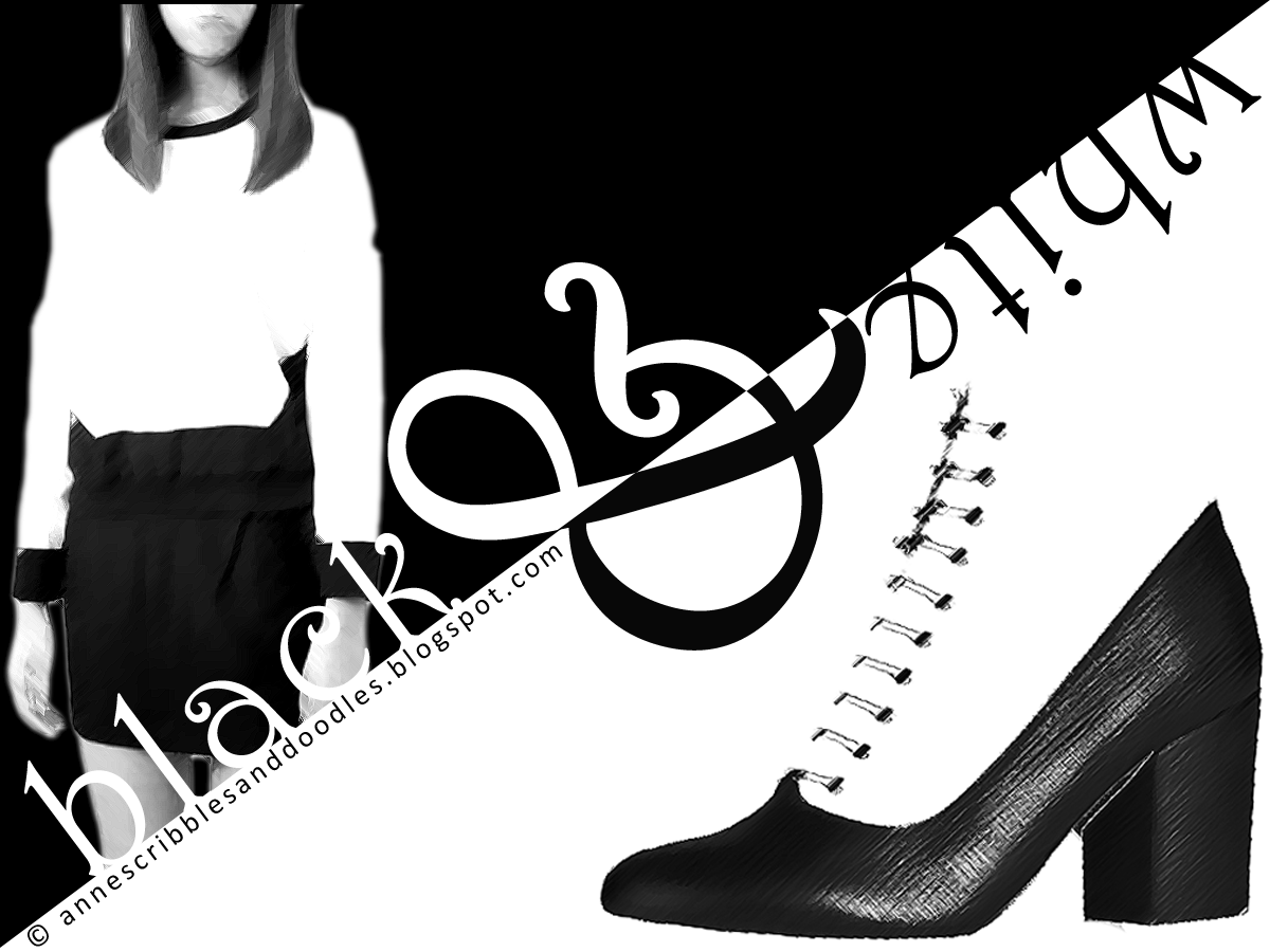 Black and White Fashion (Cross the Line)
