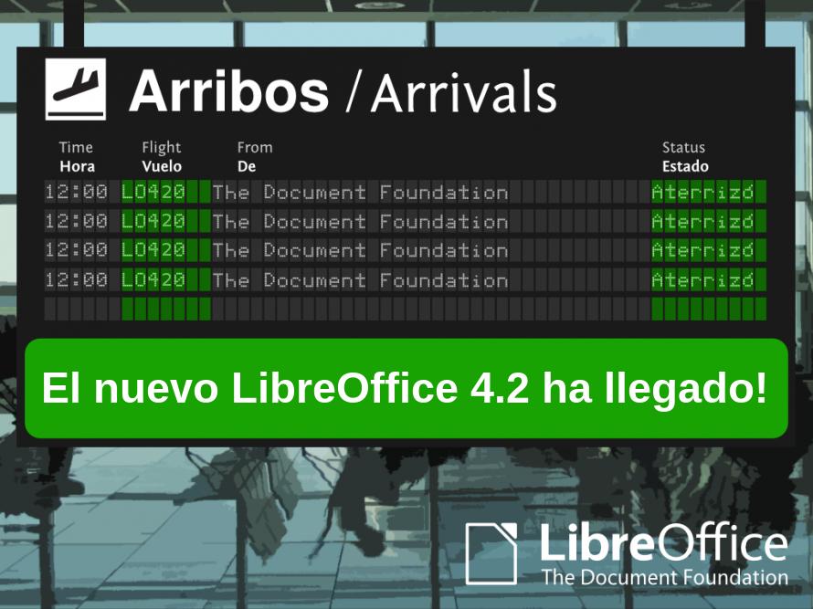 Instalar LibreOffice 4.2.1 en Ubuntu 13.10 y Ubuntu 12.04 LTS, nueva versión libreoffice ubuntu 13.10