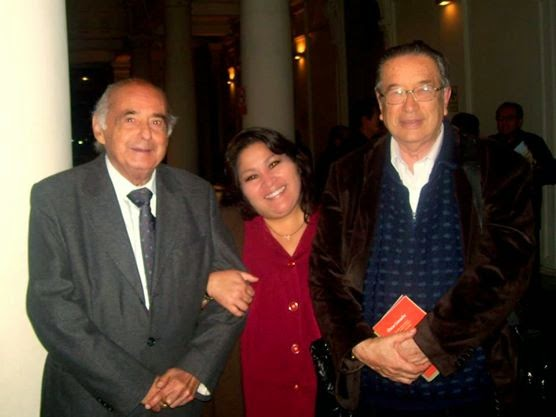 con Carlos German Belli y Marco Matos.