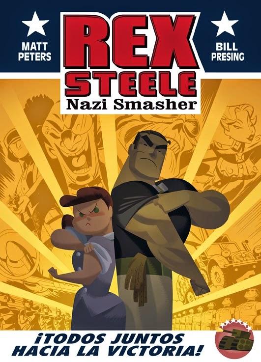 Rex Steele: Nazi Smasher Aleta Ediciones