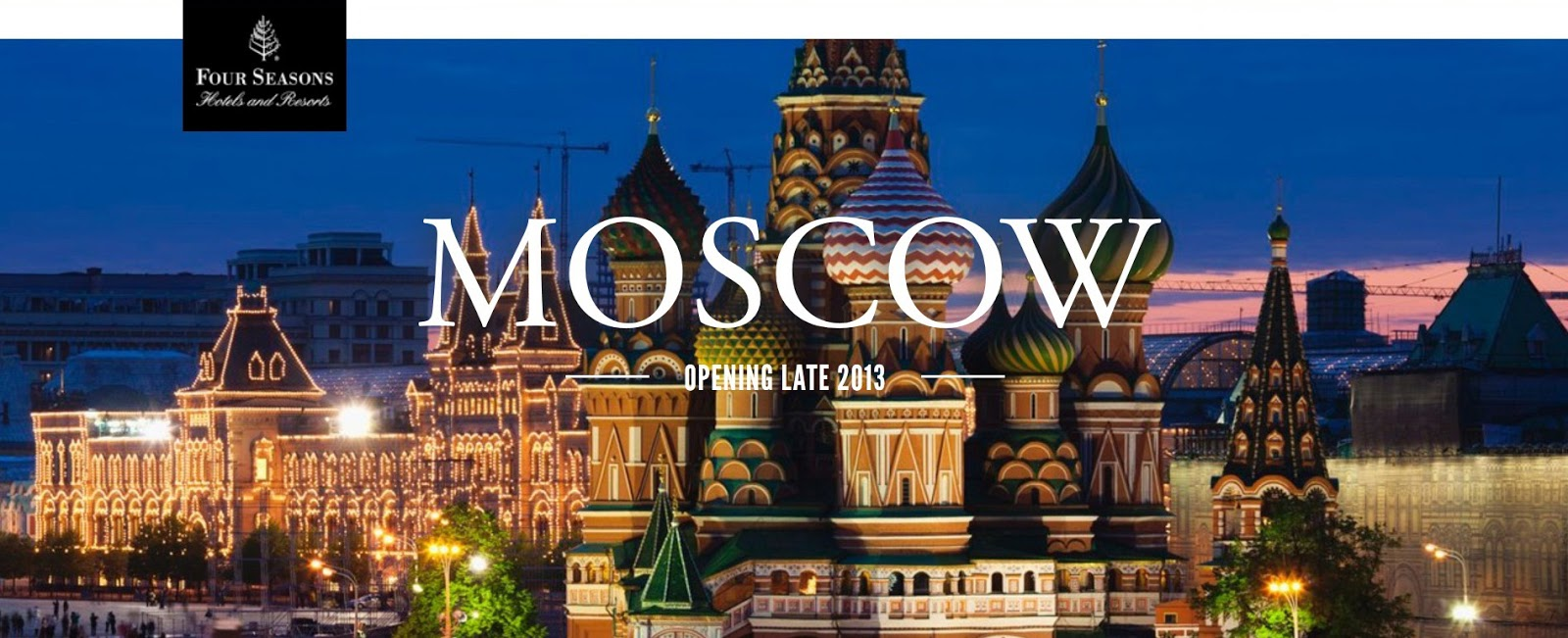 Four Seasons Hotel Moscow opening. Открытие 2013