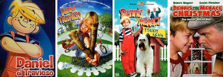 Series llevadas al cine, Daniel, el travieso