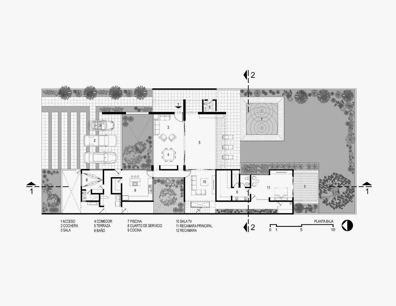 Apuntes revista digital de arquitectura proyecto casa for Plantas de arquitectura