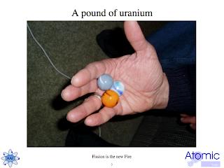 Pound of uranium equivalent