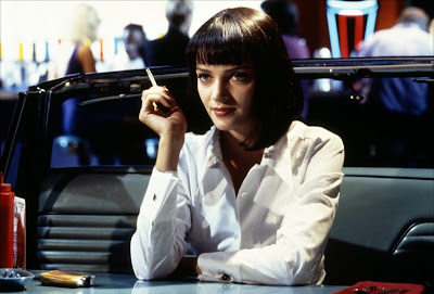 Uma Turman in Jack Rabbit Slim's in Pulp Fiction